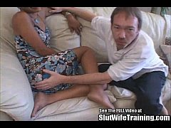 ANAL Petite MILF Fucked by Big White Cock