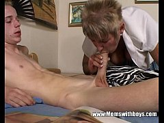 I Was Caught Masturbating By My Busty Mature St...