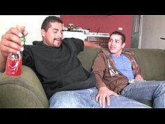 Hot straight latino guys suck each other big un...