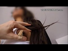 shy black teen first porn casting