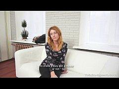 Tricky Agent - Perky redhead Renata fucking cas...