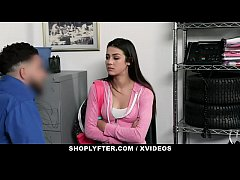 ShopLyfter - Teen Latina Shoplifter Caught And ...