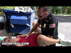 GAYPATROL - Silent Alarm Triggers Cops To Fuck ...