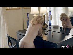 Stepdad whores out his hot blonde teen stepdaug...