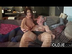 Old Young Babes Big Natural Juicy Tits Young bo...