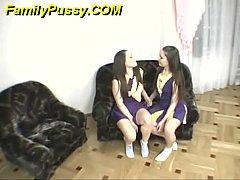 Sasha and Pasha Pussy Licking