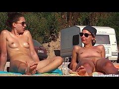 Nude Horny Naked Milfs At The Beach Video Voyeu...
