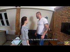 HUNT4K. Teen couple has no money and is ready t...