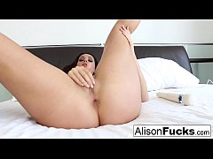 Alison Tyler teases with her Hitachi