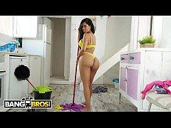 BANGBROS - Big Booty Latin Maid Canela Skin Get...