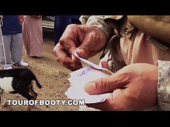 TOUR OF BOOTY - American Soldiers Trade Goat Fo...