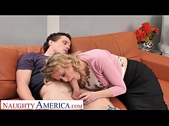 Naughty America Elle McRae cheats on husband wi...