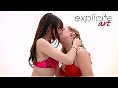 Luna Rival and Fira Ventura Lesbian anal fisting