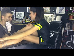 Tattoo Shop Sex with client