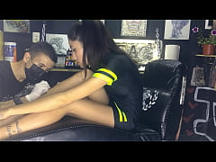 Tattoo Artist fucked his client for hours until...