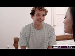 MomsTeachSex - Step Siblings Blackmail Hot Milf Into A Threesome! S11:E2