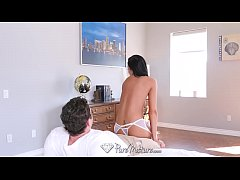 PUREMATURE Lean MILF Tiffany Brookes facial aft...