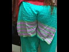 Bangladeshi milf showing her big  ass
