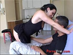 Casting - Accidental Creampie for French studen...