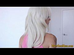 Blonde newbie pov riding