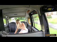 Wise driver bangs his damn blondie babe custome...