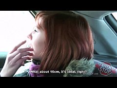 Bitch STOP - Red haired teen hitchhiker Monca f...