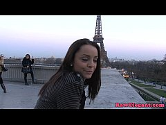 Glamour french babe interracial assfucked