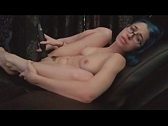 Masturbating in Daddy's chair! Showing you my f...