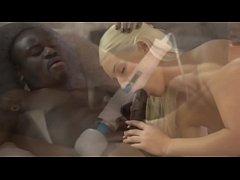 BLACK4K. Black on white sex action of Karol and...