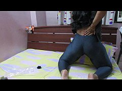 Indian With Big Ass Pulls Her Pants Down