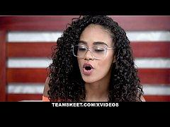 TeenyBlack - Gorgeous Tiny Black Girl Scarlit S...