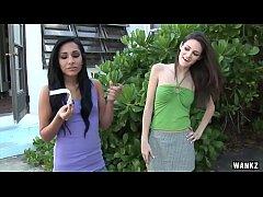 WANKZ- Teen Lez Monica Seduces Kim Kennedy