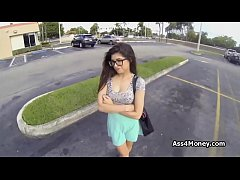 Banging and filming broke perky teen