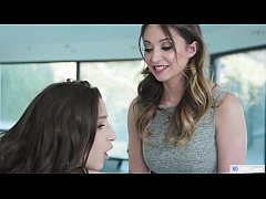 Anal at the Office - Abella Danger and Angela W...