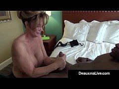 Milf Secretary Deauxma Gets Banged By Boss's Bi...