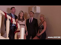Anal inspectors watch blondies Gina & Rachele R...