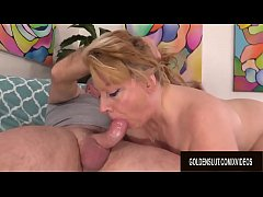 Charming Juicy GILF Penny Sue Works Her Magic o...
