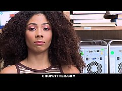 ShopLyfter - Ebony Princess Gets Caught and Get...