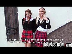 Two Stranded Schoolgirls (Dominica Phoenix, Jes...