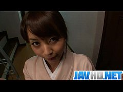 Teen Marika gives an asian pov blowjob and swal...