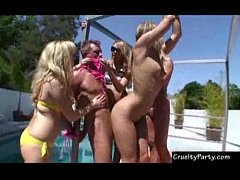 Pool Side Bacholette Mayhem!