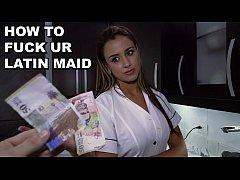 BANGBROS - Colombian Maid Sofia Cleaning My Apa...
