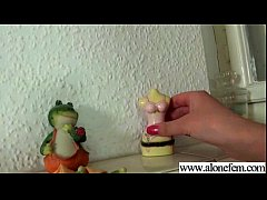 Alone Teen Girl (liona) On Camera Masturbates With Dildos mov-14