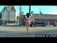 Ashley Grace - Public Flashing Vibrator Girl pt.1