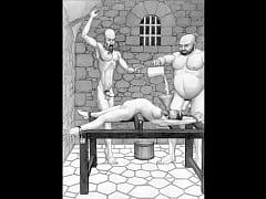 Dungeon terrors brutal extreme bondage bdsm too...