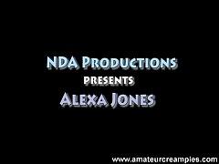 Alexa Jones - Very pretty girl creampie