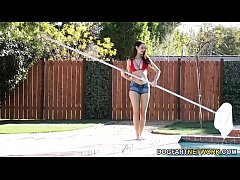 Pool Cleaner Eliza Ibarra Cleans Also BBC