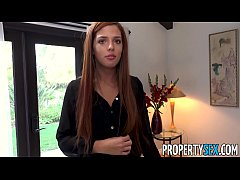 PropertySex - Stressed out landlady receives massage