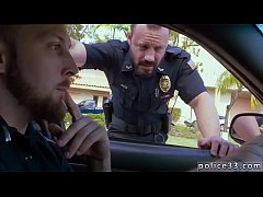 Gay boy sexy porn kiss Fucking the white police with some chocolate