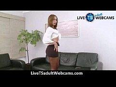 Gabrielli Bianco and her massive she-cock LiveTSadultWebcams.com